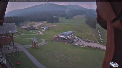Lake Louise Ski Resort Base Area